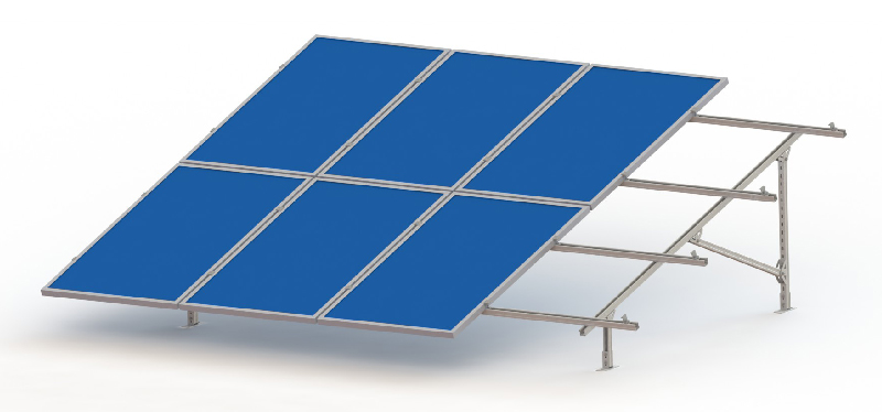 Wide use solar steel structure