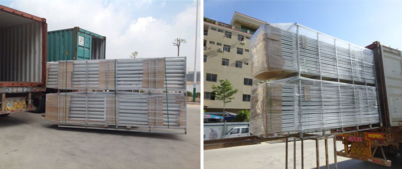 solar mounting for steel racking package