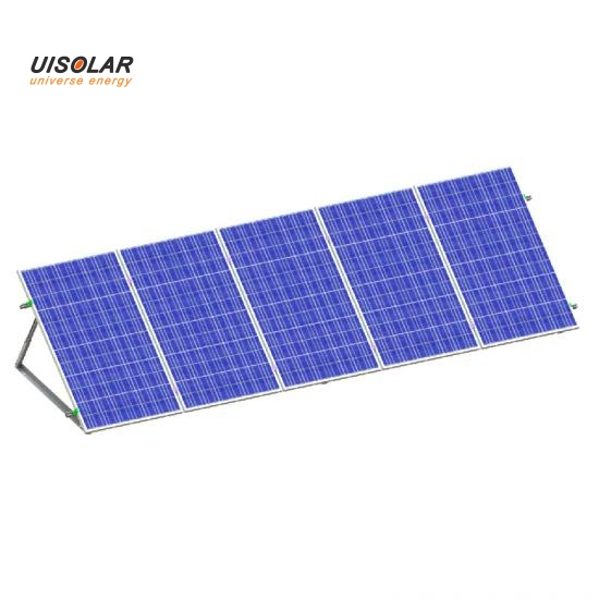 triangle type solar panel bracket