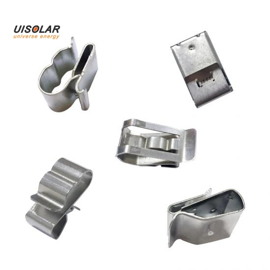 solar module stainless steel cable clip